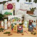Saatgut-Adventskalender Kräuter, Gemüse & Obst
