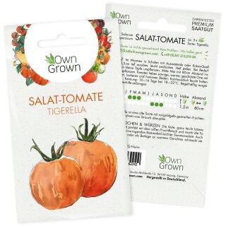 Salat-Tomate Tigerella