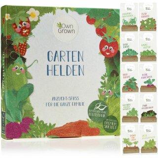 Garten-Helden 10er Saatgut-Set